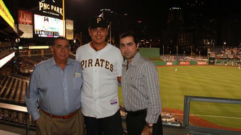 Luis Heredia en Pittsburgh