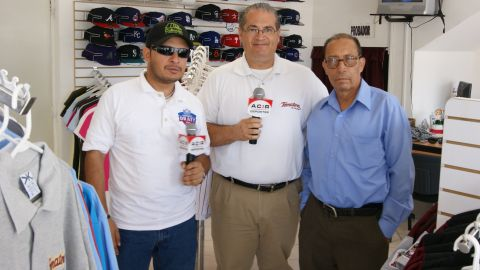 Transmisión del programa radiofónico Siguiendo a los Tomateros