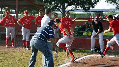 Pruebas de velocidad en la Academia de la Liga Mexicana de Beisbol