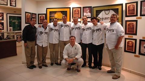 Comité Deportivo en Sallón de la Fama Yaquis.