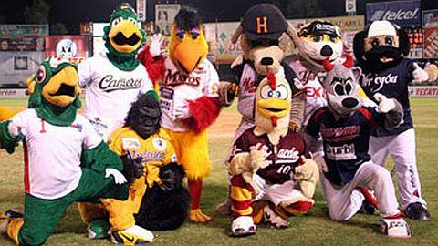 Mascotas de la Liga Mexicana del Pacífico