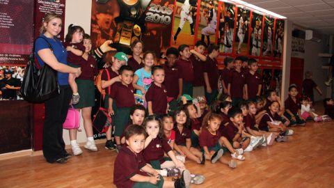 """El Estadio """"Héctor Espino"""" recibió la visita de un grupo de niños"""