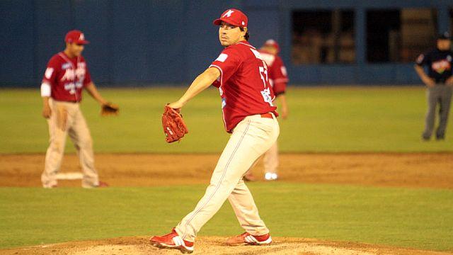 Pablo Ortega, pitcher de Venados de Mazatlán