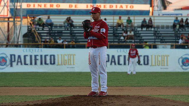 Walter Silva, lanzador de Venados de Mazatlán