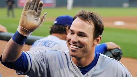 Trent Deltjen de Dodgers de Los Angeles