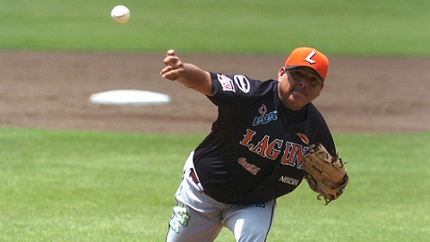 Baudel Zambrano, lanzador de Vaqueros Laguna