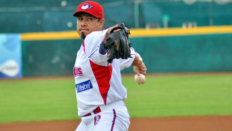 Carlos Elizalde, pitcher de Piratas de Campeche