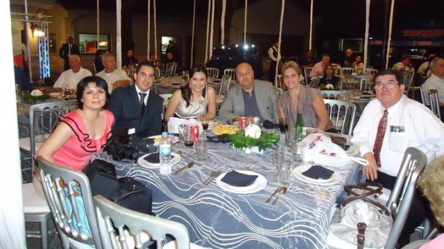 Sr Blancarte junto con la comitiva del Dr Lerma en la ceremonia de entronización