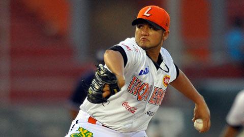 Demetrio Gutiérrez, pitcher de Vaqueros Laguna