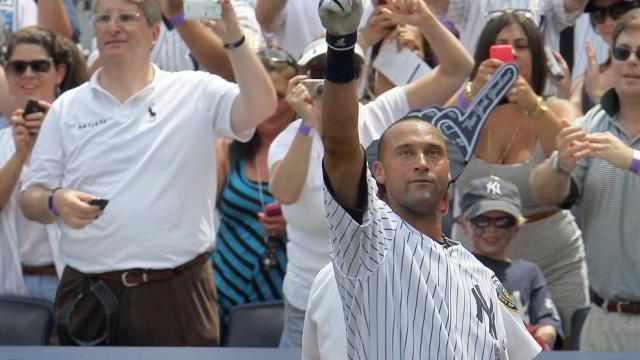 Derek Jeter de Yankees de Nueva York llegó a 3,000 hits