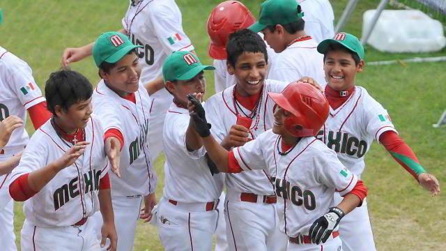 Felicitación de México en Mundial de 12 años 2011 de la IBAF