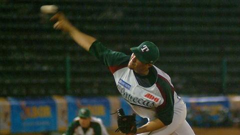Fernando Pérez-Abreu, pitcher de Olmecas de Tabasco