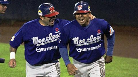 Héctor Garanzuay y Leo Arauz de Acereros de Monclova