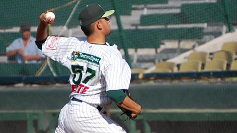 Marco Antonio Tovar, pitcher de Broncos de Reynosa