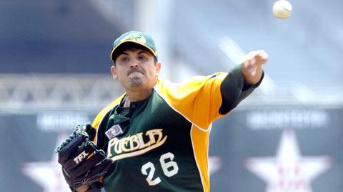 Mauricio Lara, pitcher de Pericos de Puebla