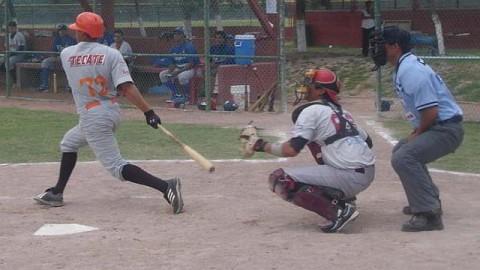 Noé Tapia de Reynosa-Laredo-Laguna en la Liga Clase AA de la Academia LMB