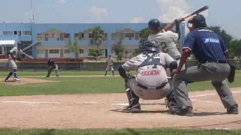 Rodolfo Amador de REYLARLAG en la Liga Clase AA de la Academia LMB
