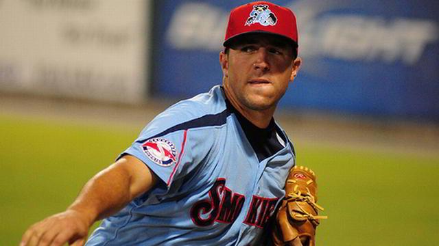 Blake Parker, pitcher de Naranjeros de Hermosillo