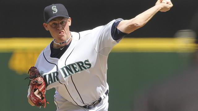 Charlie Furbush pitcher de Marineros de Seattle