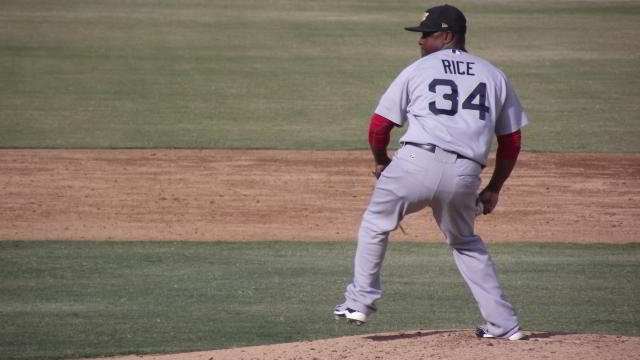 Jason Rice, pitcher de Naranjeros de Hermosillo