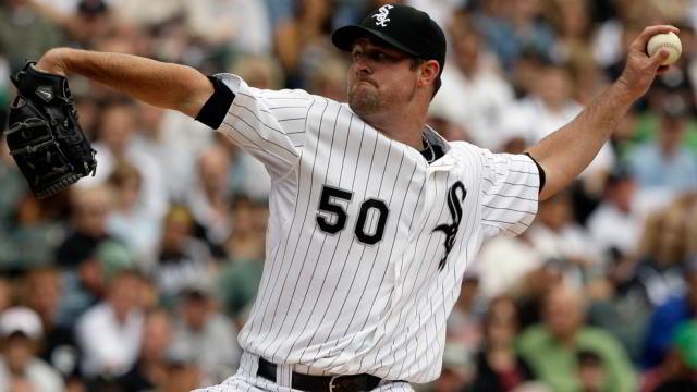 John Danks, pitcher de Medias Blancas de Chicago