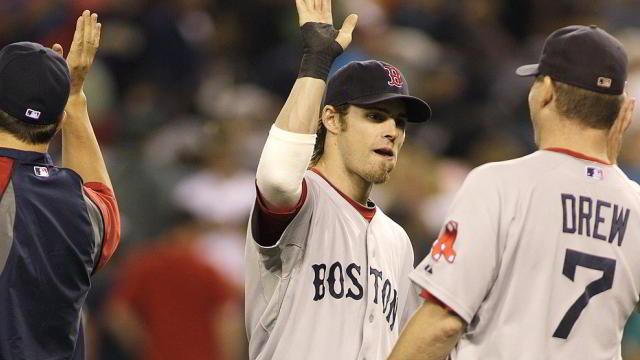Josh Reddick de Medias Rojas de Boston