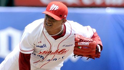 Marco Duarte, pitcher de Diablos Rojos del México