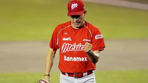 """Roberto """"Metralleta"""" Ramírez, pitcher de Diablos Rojos del México"""