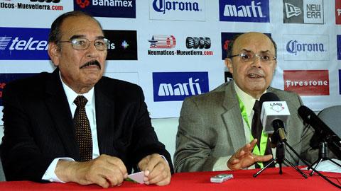 Pedro Treto Cisneros y Plinio Escalante