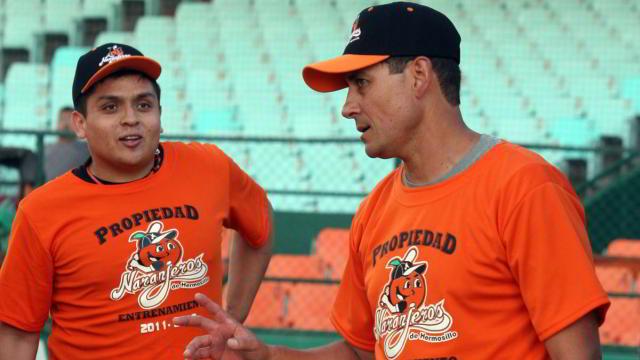 Ever Magallanes, manager de Naranjeros de Hermosillo