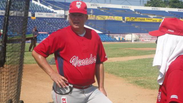 Homar Rojas, manager de Venados de Mazatlán
