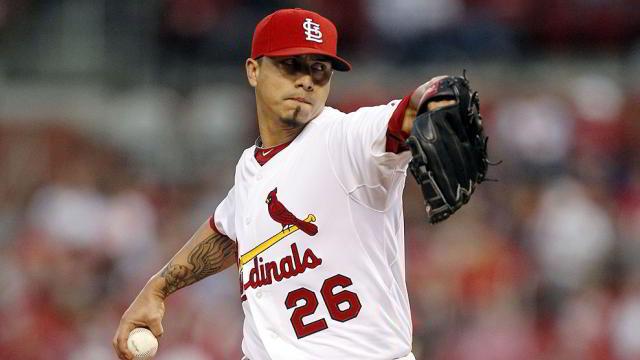 Kyle Lohse, pitcher de Cardenales de San Luis