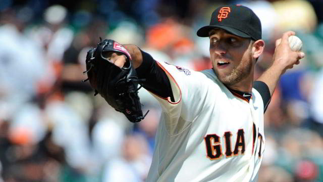 Madison Bumgarner, pitcher de Gigantes de San Francisco