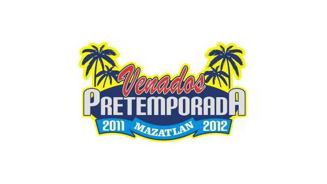 Logotipo de la pretemporada 2011-2012 de Venados de Mazatlán
