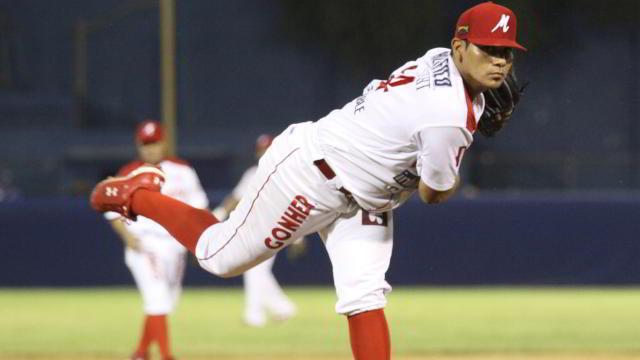 Alfonso Sánchez, lanzador de Venados de Mazatlán
