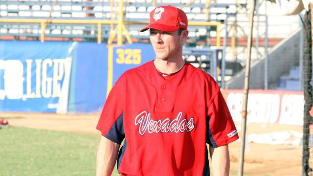 Andrew Romine, lanzador de Venados de Mazatlán