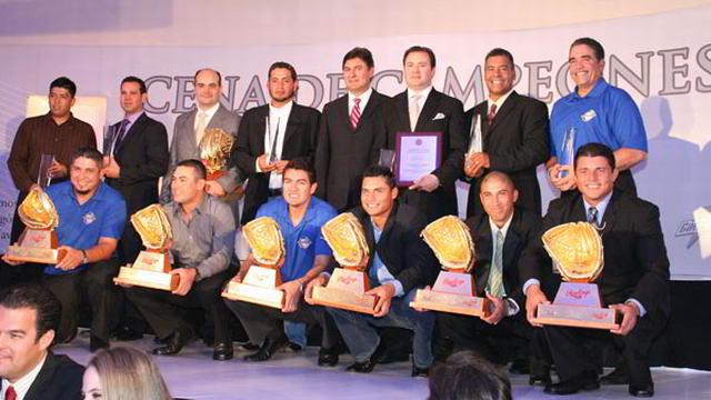 Cena de Campeones de la Liga Mexicana del Pacífico en Ciudad Obregón