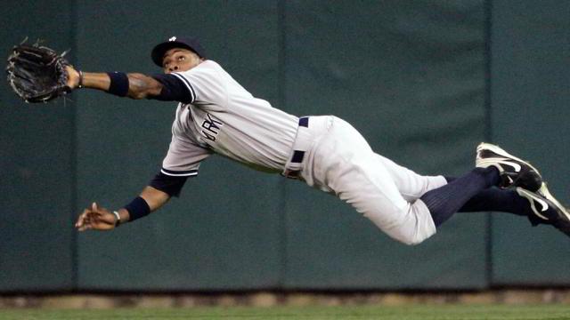 Curtis Granderson de Yankees de Nueva York