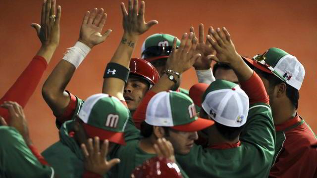 Felicitación de México al vencer a República Dominicana