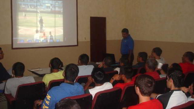 Taller de Reglas en la Academia de la Liga Mexicana de Beisbol