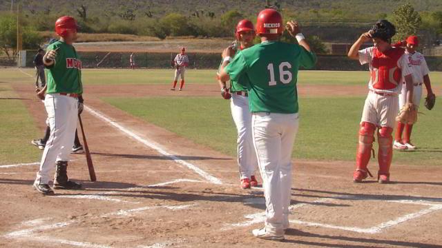 Carrera de la selección juvenil de beisbol de México en la Academia LMB