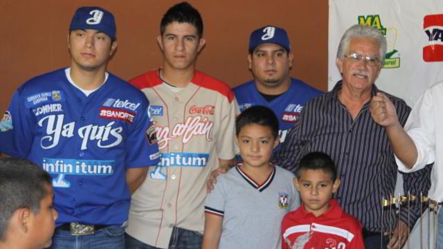 Visita de Yaquis de Ciudad Obregón y Venados de Mazatlán a FAI Sonora