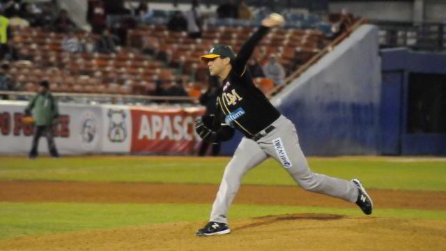 Dan Serafini, pitcher de Cañeros de Los Mochis