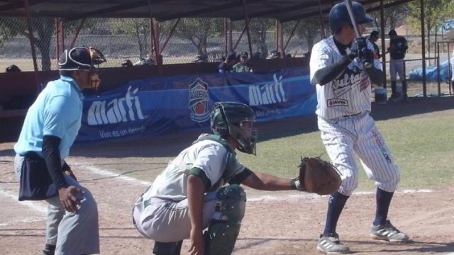 José Cuadras de Monterrey-Aguascalientes en la Liga Rookie