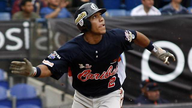 Alexi Amarista de Caribes de Anzoátegui de la Liga Venezolana de Beisbol Profesional