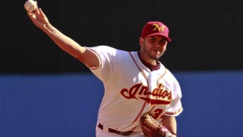 Hiram Burgos, pitcher de Indios de Mayagüez
