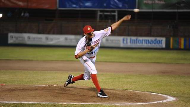 Orlando Lara, pitcher de Mayos de Navojoa