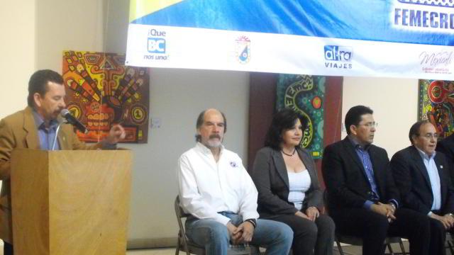 Inauguración del Congreso de la Federación Mexicana de Cronistas Deportivos FEMECRODE