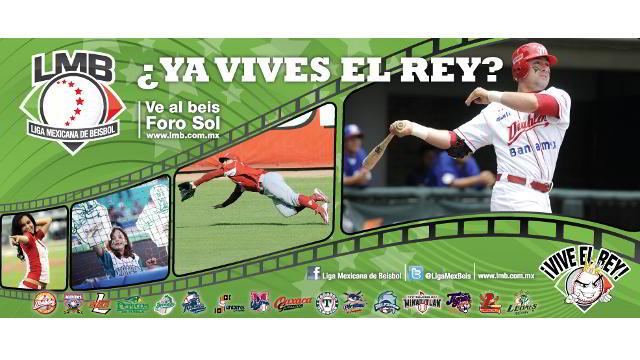 Publicidad de la Liga Mexicana en el Metro de la Ciudad de México