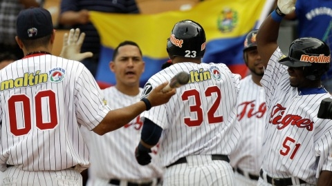Tigres de Aragua de Venezuela en la Serie del Caribe 2012